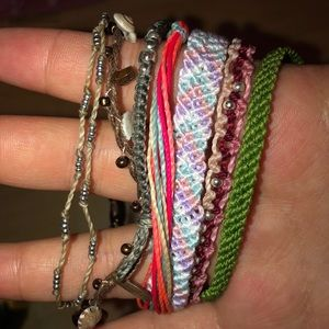 Adjustable bracelet bundle